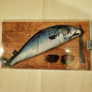 #旺旺一路發全新正品鮮魚筆袋