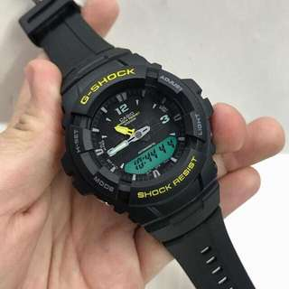 G-100 TWO TONE MATTE BLACK WATCH