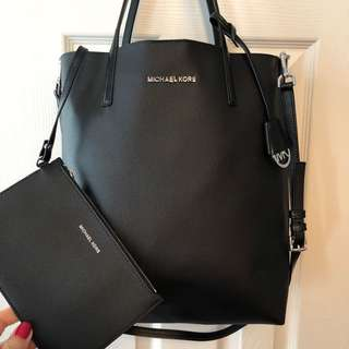 Michael Kors Hayley Tote & Pouch