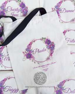 #personalized totebags #personized wallet #personalized pouch #weddingsouvenirs #baptismal souvenirs