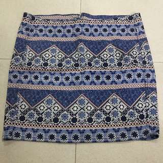 H&M Tribal Pencil Skirt