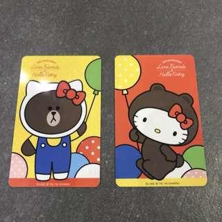 Hello Kitty & Line Friends Taiwan Ez-link card (悠游卡)