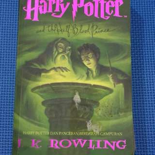 Novel Harry Potter and the half blood prince
