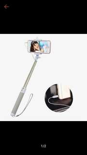 !FREEGIFT! High Quality Selfie Stick Monopod with snap button on handle