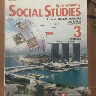 Upper Secondary Social Studies Textbook