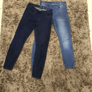 Cotton on pull on jeans