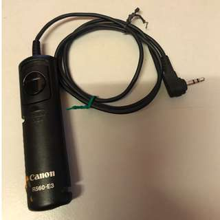 Canon RS60-E3 Remote Cable Release