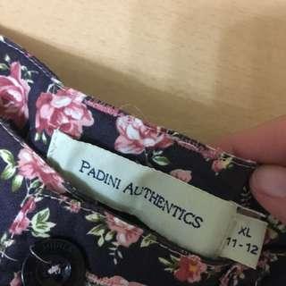 Padini flowery shorts