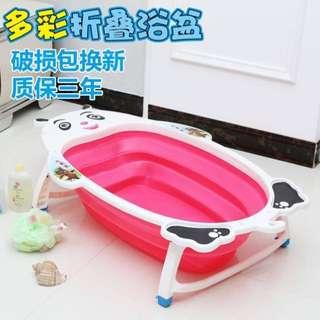Pink Collapsible Baby Tub