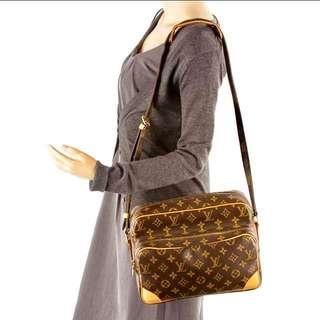 Authentic Vintage Louis Vuitton Bag Nile Crossbody/Shoulder Bag