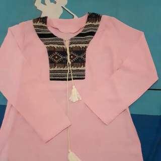 Reprice pink blouse