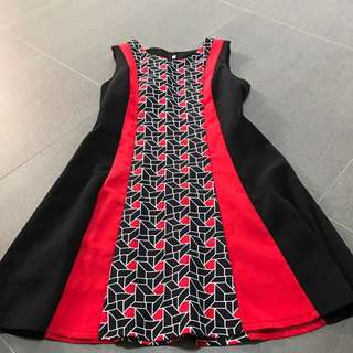 Brand new slim effect dress