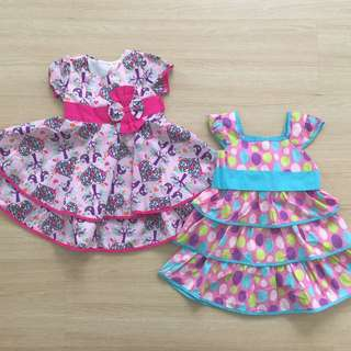 Baby Girl Party Dress Set