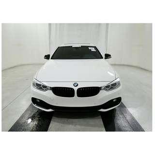 騷到骨子裡 白皮紅骨 2014 BMW 428i Keyless 天窗