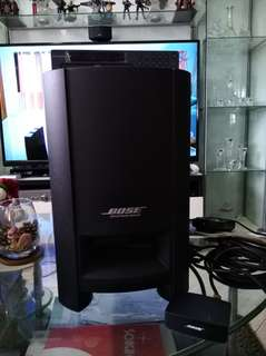 Bose Cinemate home theater with bundle CD, MP3, USB player