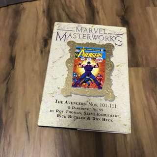 Marvel masterworks Hc set