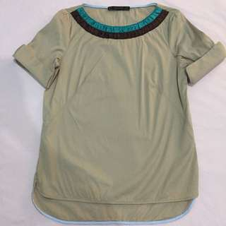 Zara Light Brown Top XS