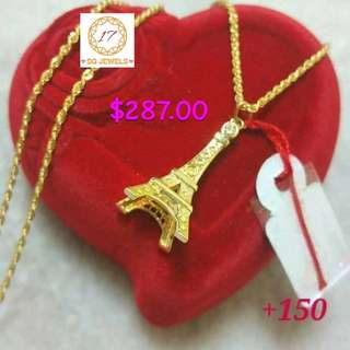 18K 750  Necklace Genuine Gold