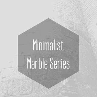 Minimalist Marble Series