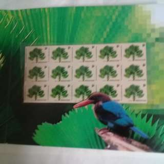 special issue-No-value stamps-Palm tree-15 stamps -1993