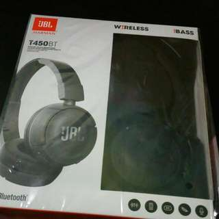 JBL T450BT WIRELESS HEADPHONE