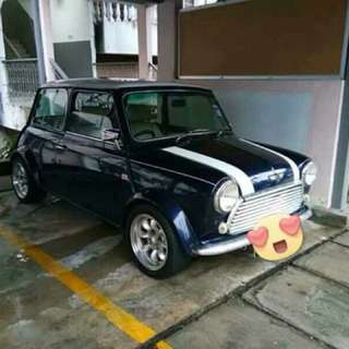 Mini cooper 1976yrs ,full leather seats, sport rims, tip top condition, air cond, original car in Malaysia documents complete, See to believe, enjin Austin morris, manual rm 26k included inspection,  insurance lnterested