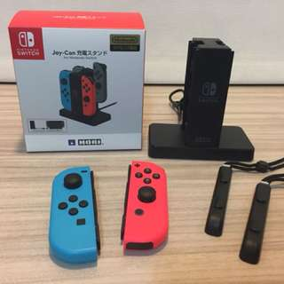 Nintendo Switch Joy-Con 手把+充電座