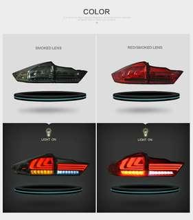 Honda city led tail lamp