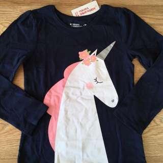 Primark 6-7yrs tshirt unicorn