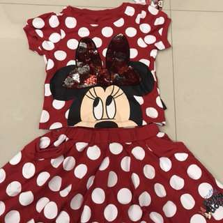 Minnie  Sequin Top and Dress