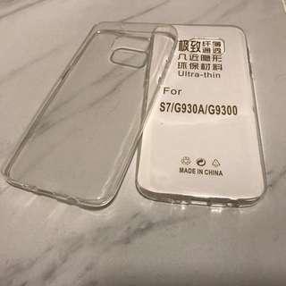 Samsung S7 透明軟膠套