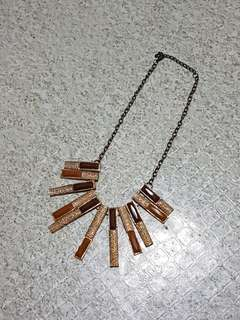 Women's Brown Fashion Necklace