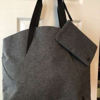 Lululemon All Day Tote - Heathered Dark Grey