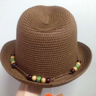 [From Japan] Boys Cowboy Hat (Brown) 52cm