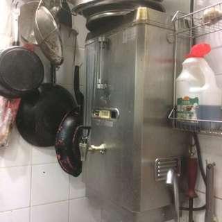 單餐廳用相電熱水叉