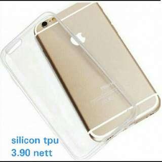 Transparent TPU silicon Case