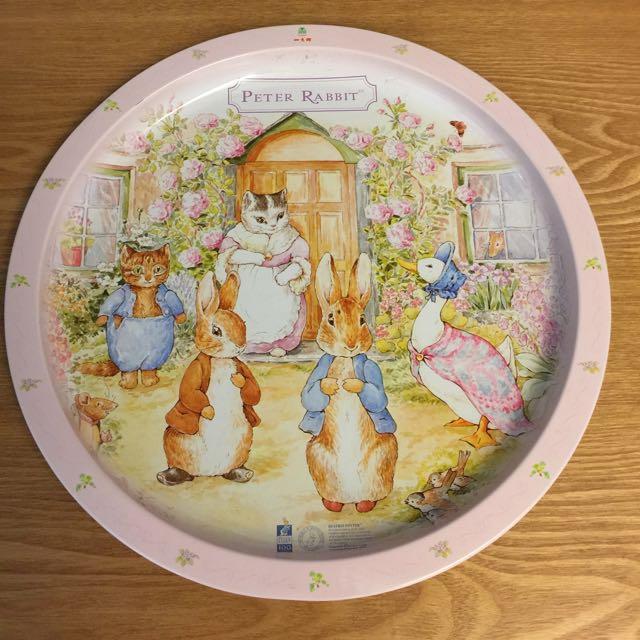 彼得兔水果盤
