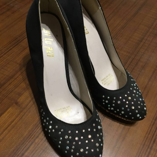 亮晶晶高跟鞋 38號(二手)