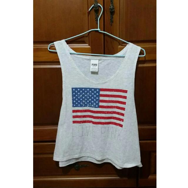 美國國旗背心 #有超取最好買 #好想找到對的人 #舊愛換新歡