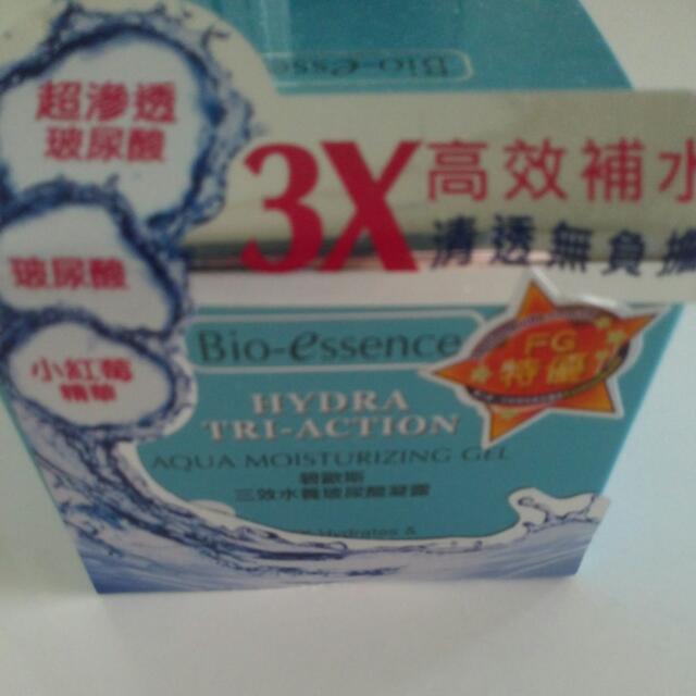 碧歐斯 三效水養玻尿酸凝露 50g 全新