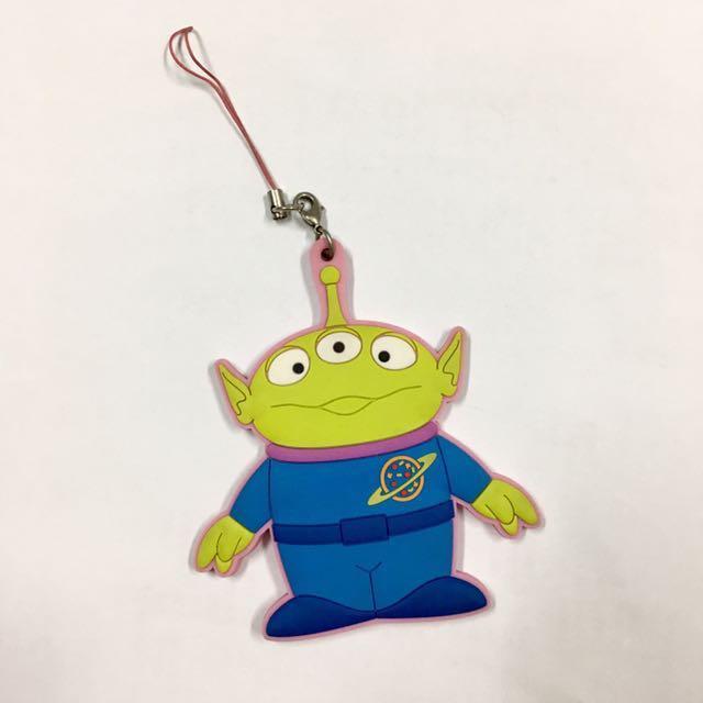 迪士尼 三眼怪 吊飾 Pixar 日本帶回