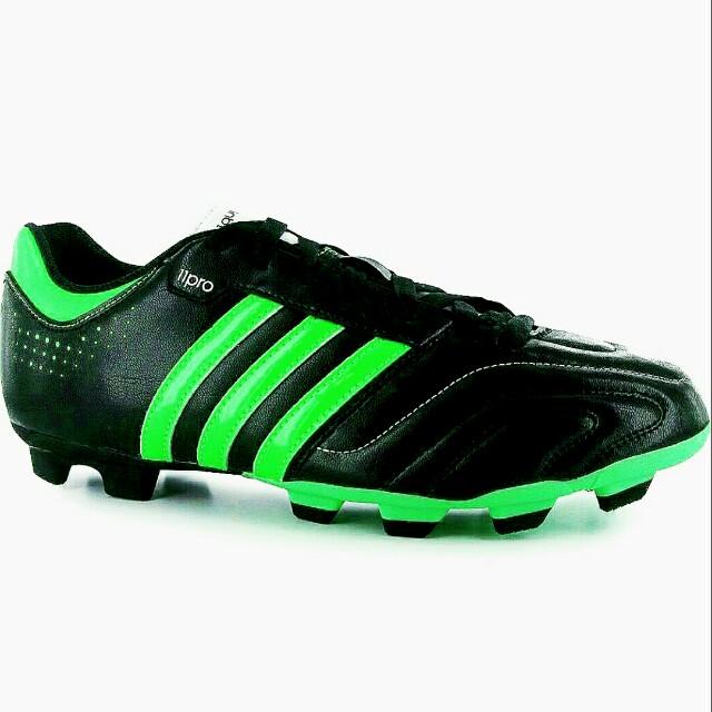 53f36836eb0 adidas Questra 11pro TRX FG Mens Football Boots Black Green