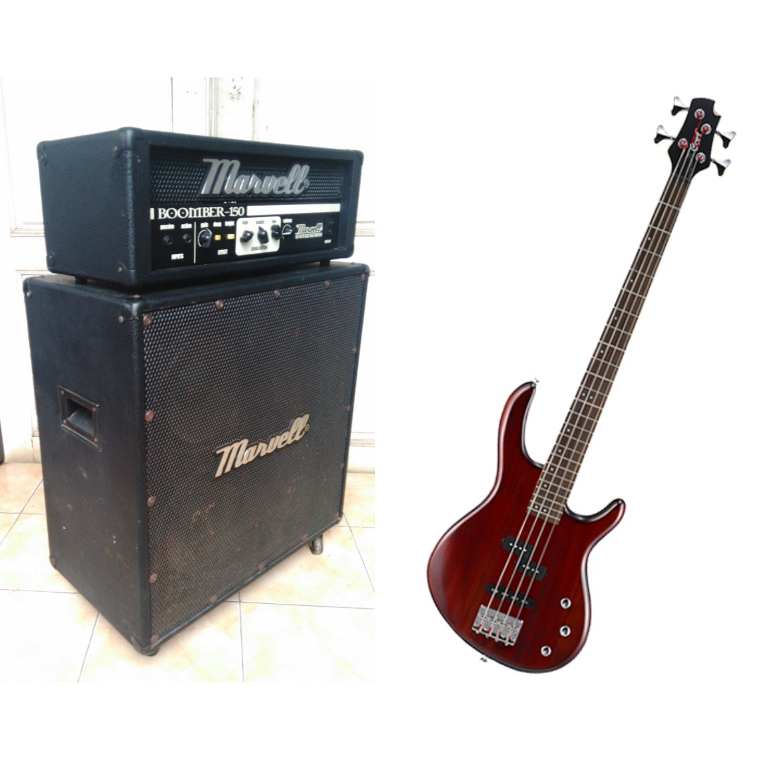 Amply Bass Head cabinet Marvel with Bass Cort Action