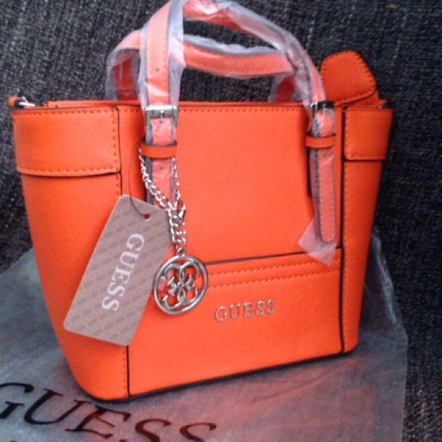 1914f2d1dc25 authentic guess delaney mini tote crossbody bag