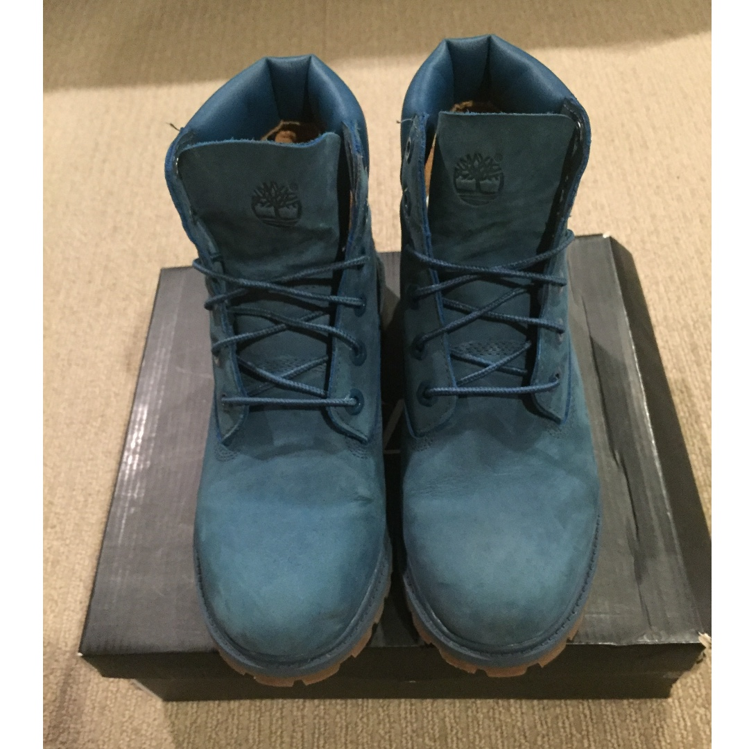 Authentic Timberland Boot (Dark Teal)