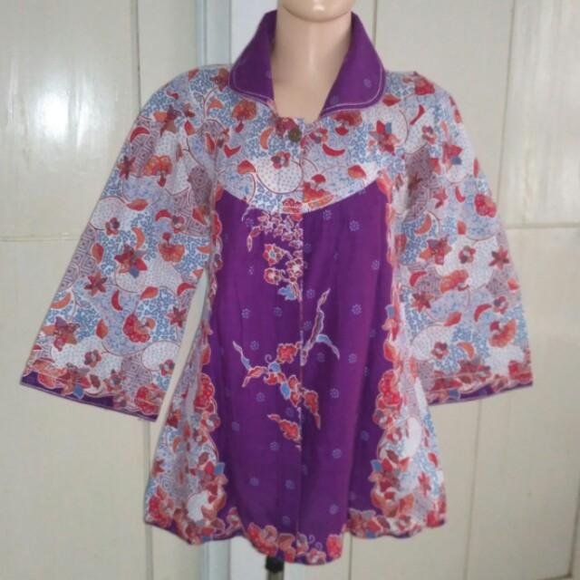 Baju batik ( 4 potong )