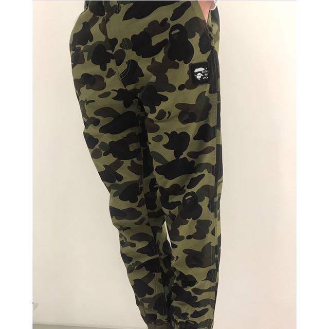 0cc105171 BAPE 1ST CAMO CHINO JOGGER PANTS, Women's Fashion, Clothes, Pants ...