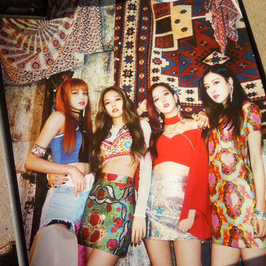 Blackpink Official Posters pop-up store