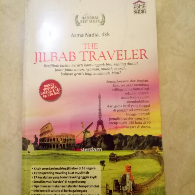 Buku Novel The Jilbab Traveler