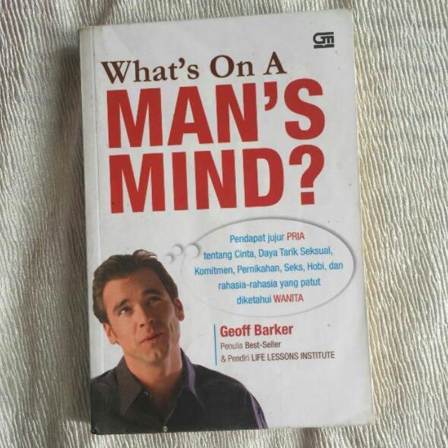 Buku What's on a man's mind?